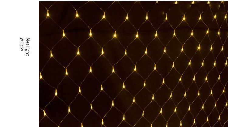 2015 new products net shaped holiday light outdoor lighting large 11 led 08g aloadofball Gallery