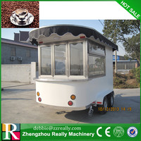 Mobile fried ice cream vending carts snack machine mobile food truck