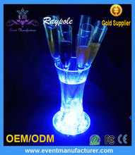 Round&Bright Wedding Table Centerpiece 6Inch LED Vase Light for Wedding Table