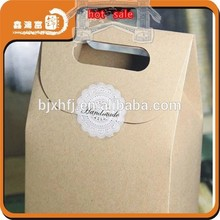 Popular high quality customized health food packaging paper bag