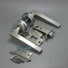 Stainless Steel 304 Door Ironmongery Door Lever Handle