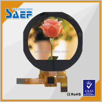 1.22 inch round spi lcd displays 240*204 IPS circular small lcd module from china