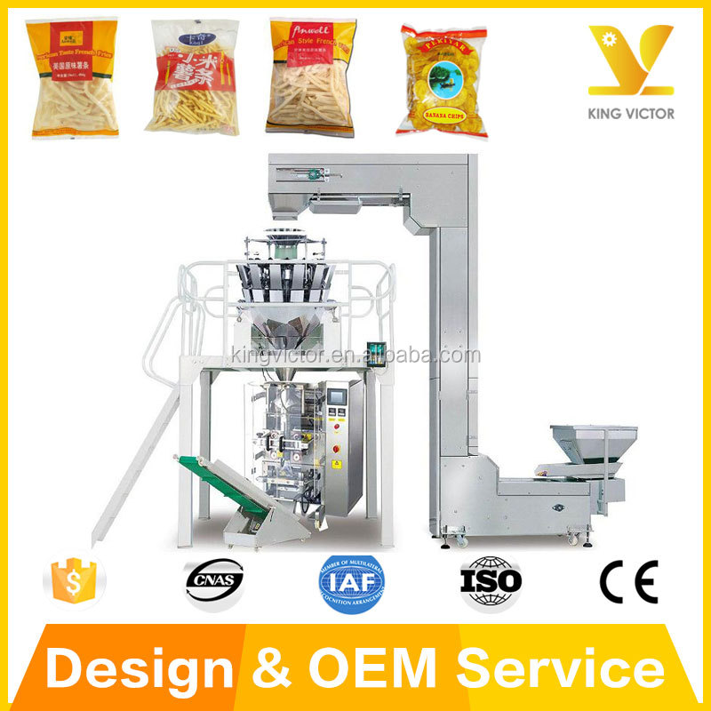 Automatic Frozen Peeled Potatoes Packaging Machine