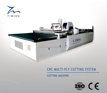 TMCC-1725 multi layers fabrics cutting table / cnc multi layers cloth auto cutter