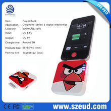 2016 New Arrival High Capacity Cartoon Character Power Bank For Macbook Pro /Ipad Mini China OEM Factory