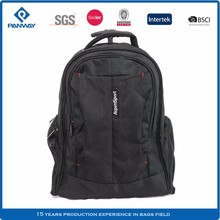 Custom Good Quality Concealable Shoulder Straps Big Book Trolley School Bag
