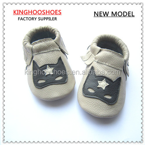 2015 new style hot sale high quality good looking baby moccasin for kids