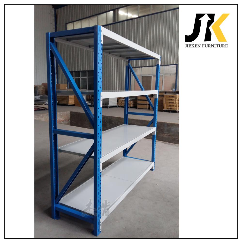 Heavy Duty Steel Sheet Vertical Metal Storage Goods Shelf Rack