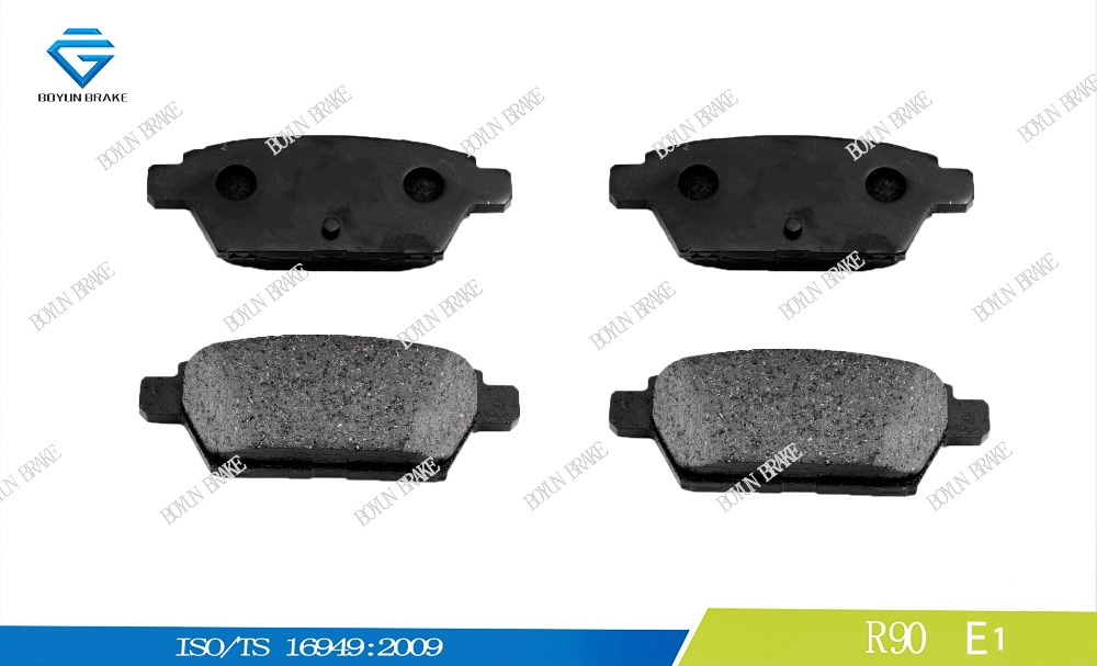 Car disc brake pad for FORD D1161 6E5Z-2200-B WVA 24581