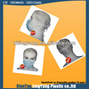 Disposable nonwoven face mask with ear-loop