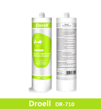 Single-part Acetic Silicone Sealant for Aquarium,Silicone Sealant DR710