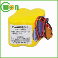 high quality PLC battery for panasonic battery br-2/3agct4a