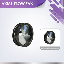 Oil smoke exhausting indoor ventilation SSAF-M10 in-line duct axial fan
