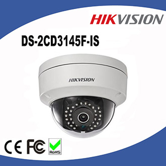 DS-2CD3145F-IS Hikvision Full HD 1080P 4MP Network Camera Security network IP Dome Camera
