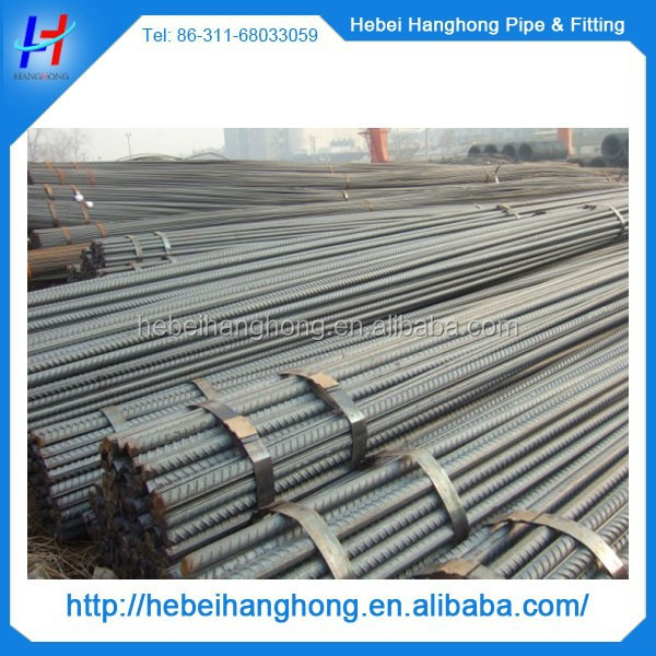 Trade Assurance Supplier 16mm reinforced deformed steel rebar, rebar steel prices