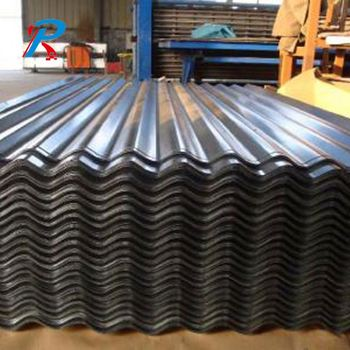 Plastic corrugated galvanized zinc coated metal roofing sheet