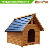 blue outdoor Nature solid Wood Pet Product,Dog House, cat house