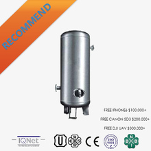 stainless steel compressed air receiver tank/vessel with good price