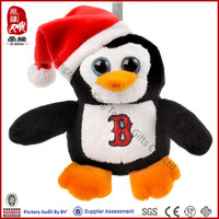 Wholesale ICTI SEDEX Soft Baby Toy Penguin Christmas Toy