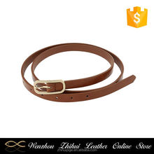 Latest OEM quality fashion casual chastity girls skinny belt