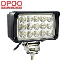 "High Quality 6000K 3150LM 6"" Square 4x4 Tractor Truck 45W Led Work Driving Light"