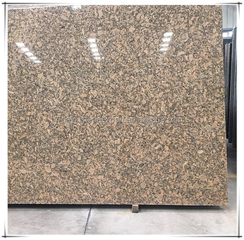 Brown china granite high polishing low price solid surface countertop