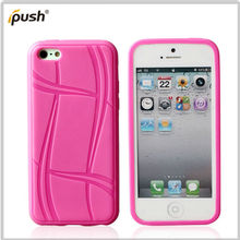 new inventor color belt tpu gel cover for iPHone 5C mobile phone case