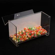 Clear Acrylic Personalized Food Grade Container Candy Boxes For Gift