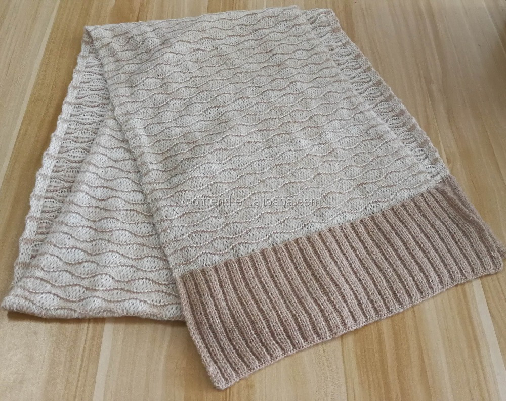 Knit Ribbed Scarf Pattern, Knit Ribbed Scarf Pattern Suppliers and ...