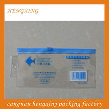 Exam Pen PVC Zipper Clear Bags