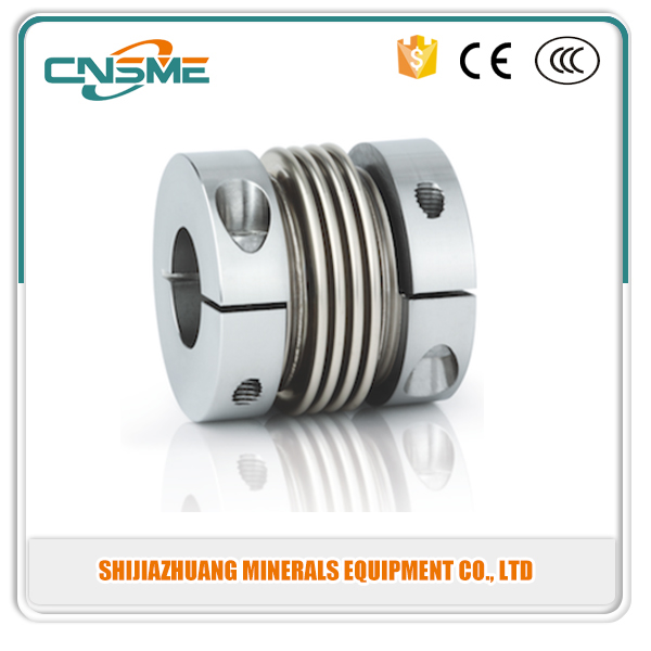 High Torque Stainless Steel Bellow Coupler Shaft Coupling For CNC Machine