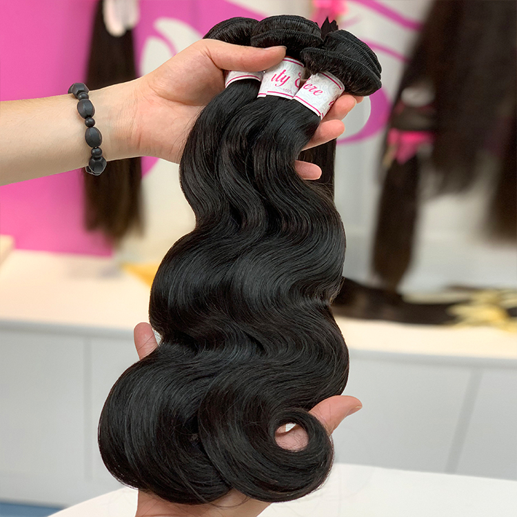 Wholesale price virgin human hair full ends body wave cuticle aligned hair,remy highlights dark brown hair,buy now human hair
