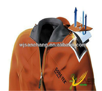 soft shell polyester spandex fabric with air permeability bonded micro fleece