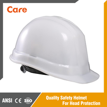 HDPE material industrial safety helmet for construction work
