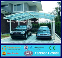 Best Selling Products Top Quality Luxury Aluminum Frame carport