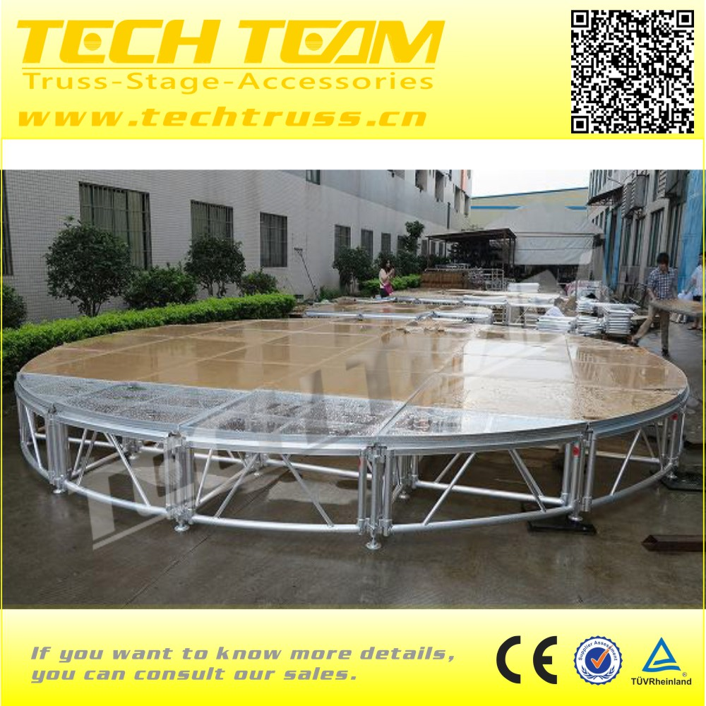 Acrylic Wedding Stage Portable Stage Platform