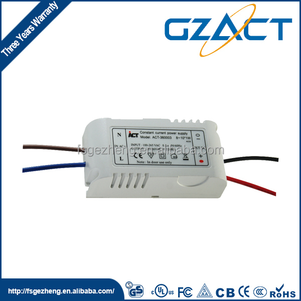8x1w LED driver 24v 350ma power supply