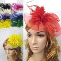 High Quality Wedding Bridal Feather Fascinator Wholesale