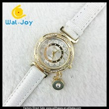 WJ-3900 multicolor vogue best selling charming leather with pendant pretty ladies watch