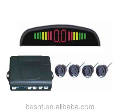 wired led parking sensor , besnt DV 12V Left and right obstacle indication led parking sensor BS-HS30A