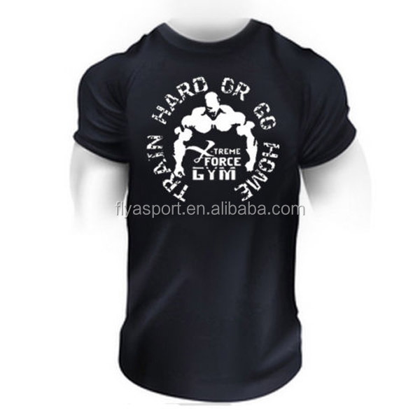 High quality Bodybuilding Muscle Fit T-Shirt for mens