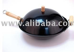 Non-Stick Wok Topper With Lid