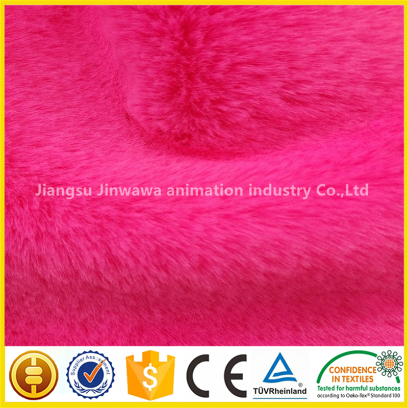 Customized All Kinds Of Knitted Fabric Fur Fabric for Scarf or Shawl