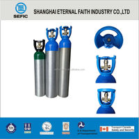 filling 1L-50L hot factory gas for sale helium cylinders Aluminum Cylinder manufacturer Industrial Gas Cylinder