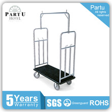 Handle Brake Airport Trolley Carts Used Baggage Carts