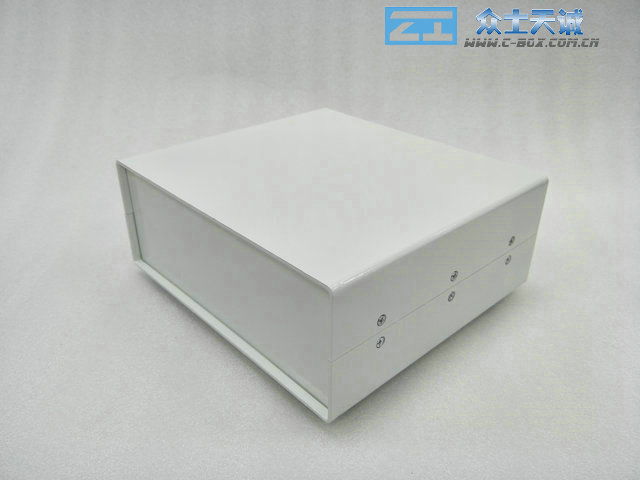AL-12/ 430*350*267mm External dimension metal Controller Housing enclosure All-aluminum sheet metal chassis instrument case