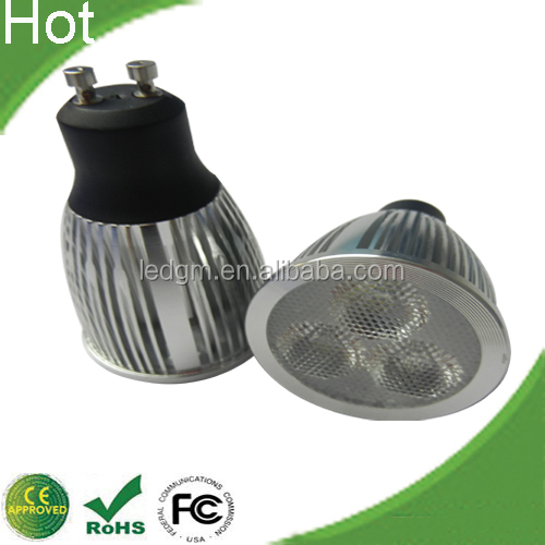 Epistar Chip High Lumen GU10 3X3W LED Lamp LED Spotlight