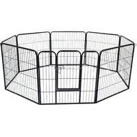 3 sizes foldable metal wire pet puppy dog fence playpen
