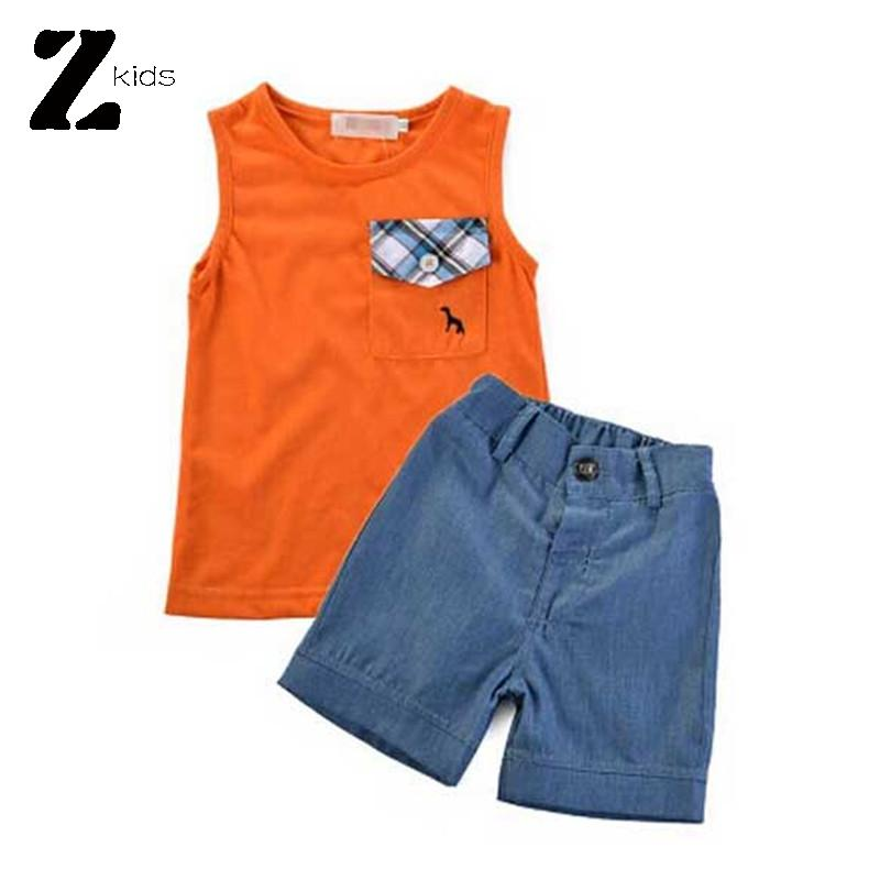 Summer Style Baby Boy Clothing Set Brand Children T Shirts +Shorts Casual 1-6 Years Cotton Clothing Kids Fashion Roupas Bebes