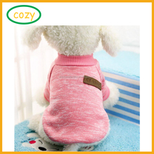 2017 Top Quality Knitted Thermal Pet Clothes for Dog Pajamas Coat Jumpsuit